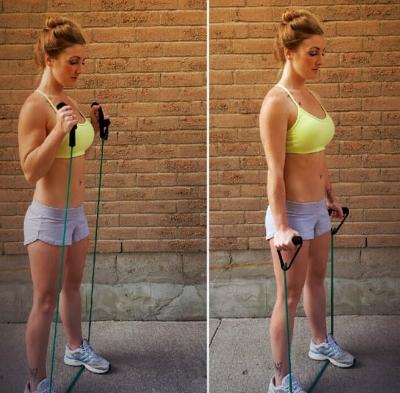 Быстрое Похудение В Руках. Как похудеть в плечах и руках: упражнения и рекомендации