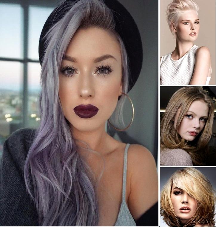 модный цвет волос осень 2017 фото